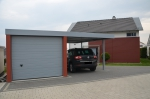 CARPORT MIT GARAGE